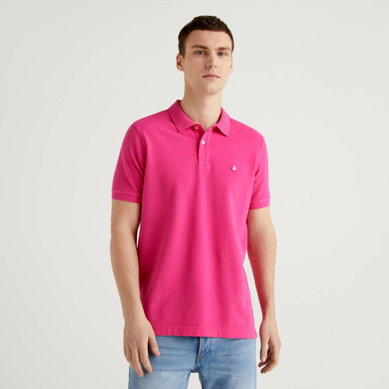 Polo fuchsia coupe regular