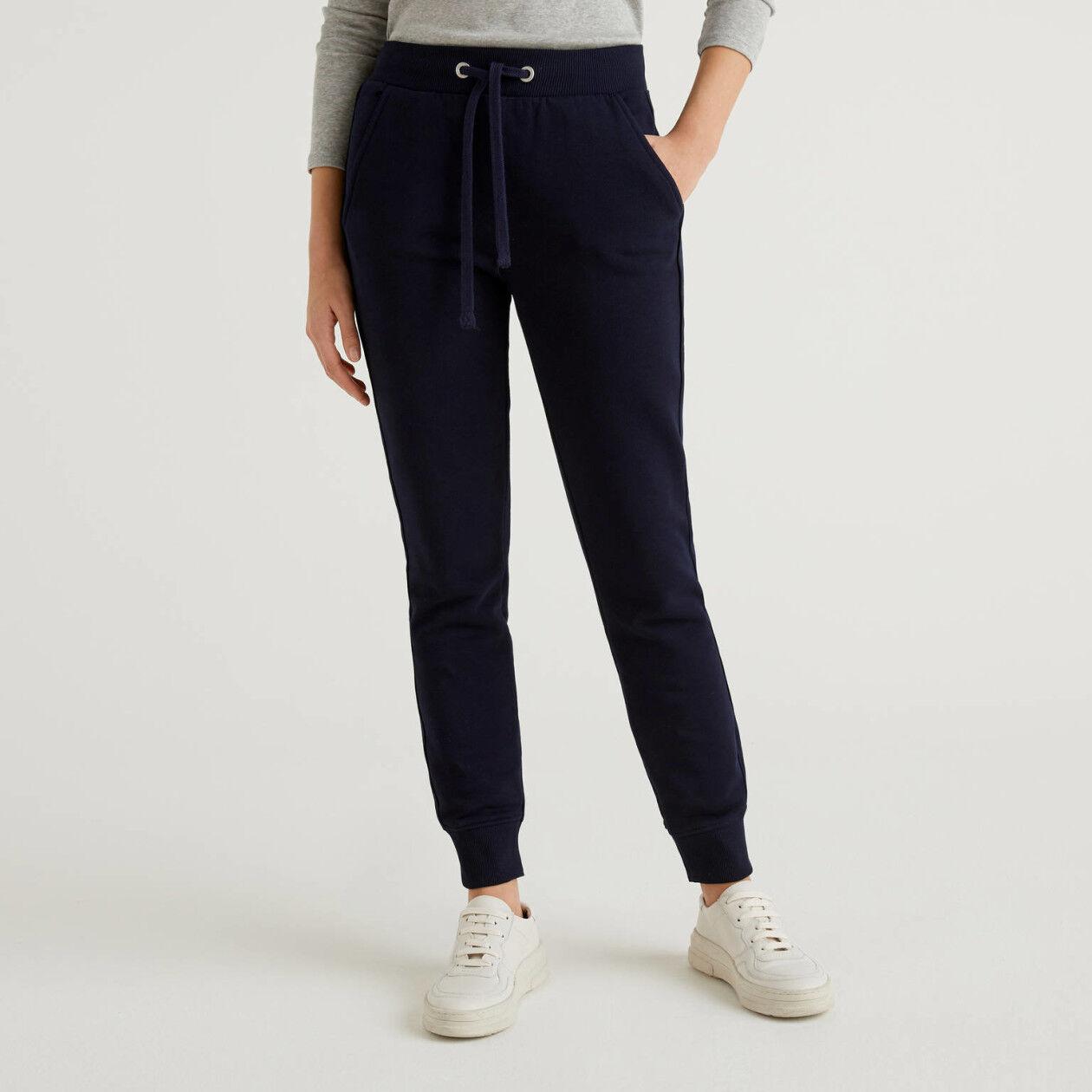 Pantalon en molleton avec cordon de serrage