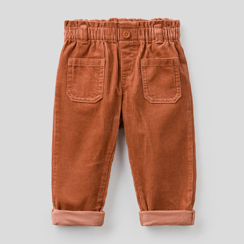 Pantaloni in velluto a costine